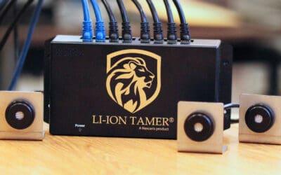 Honeywell Fire lance le Li-ion Tamer Lithium Rack Monitor